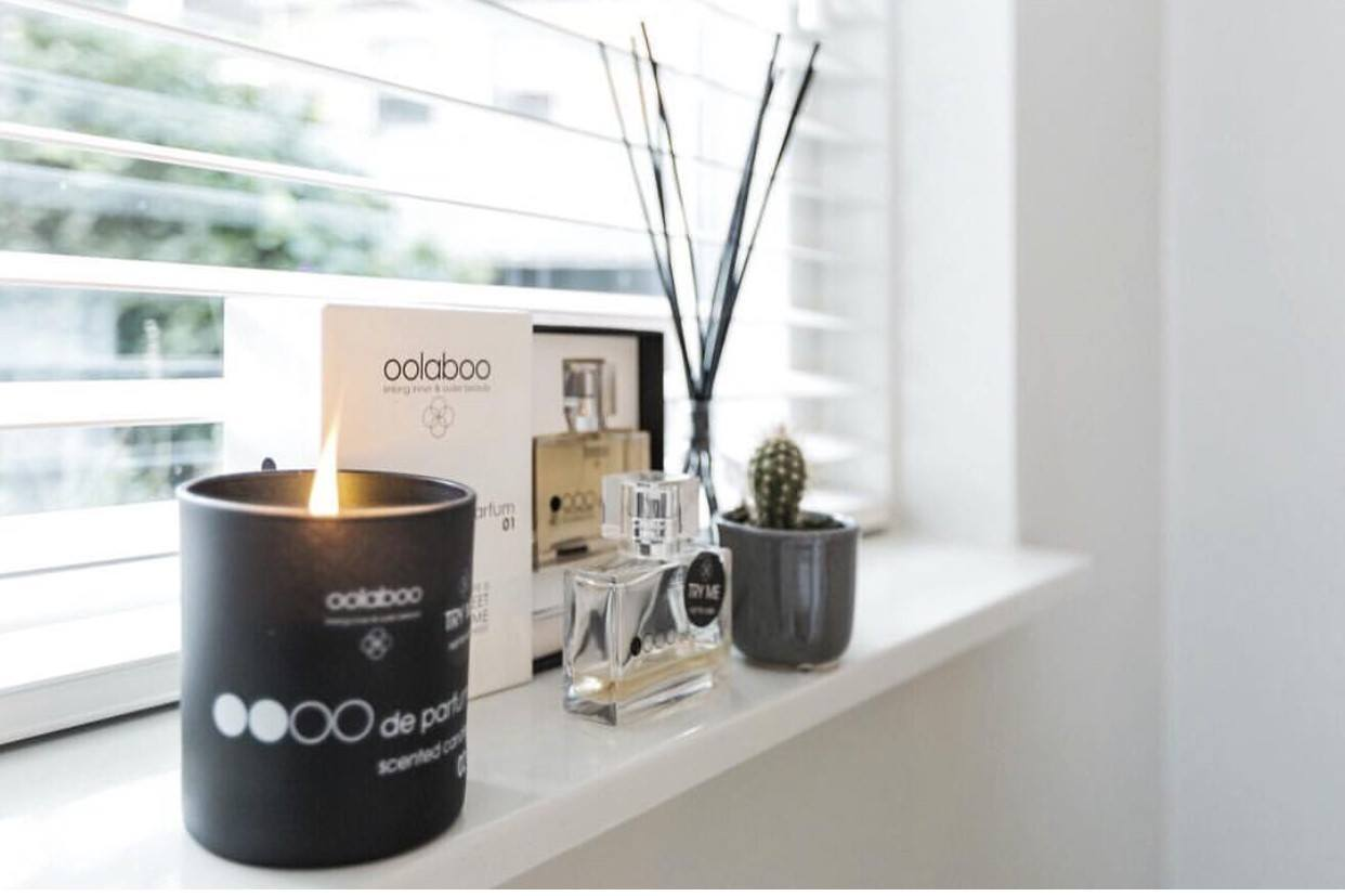 Oolaboo Oooo de parfum scented candle 02 sandalwood 300 ml